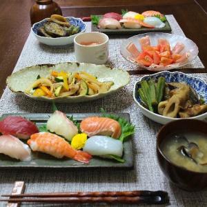 七夕セールの握り寿司
