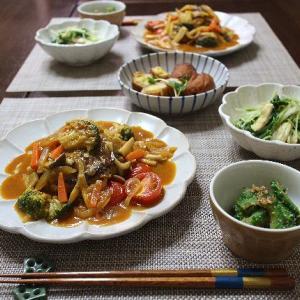 野菜たっぷりの煮込みハンバーグ