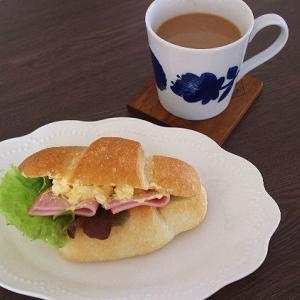 年末30日の暮らし・・・塩パンサンドのお昼ご飯♪