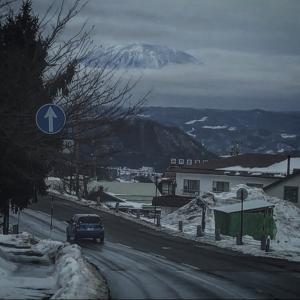 渋,湯田中温泉郷を歩く