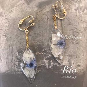 Rioさん★花びらflowerピアスetc★入荷  (雑貨 福岡)