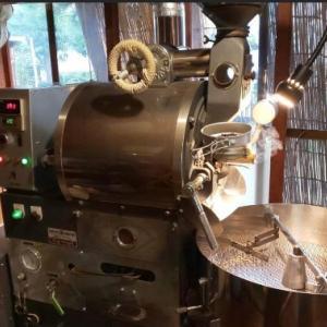 コーヒー焙煎に燻製