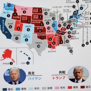 アメリカ大統領選挙の行方は