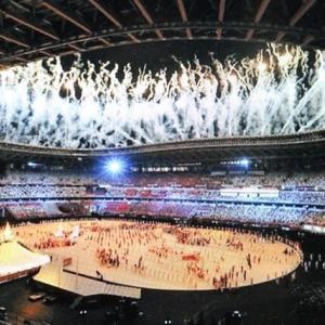 感動のオリンピック開会式