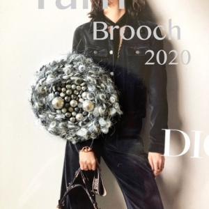Yarn Brooch 2020 グレーバージョン