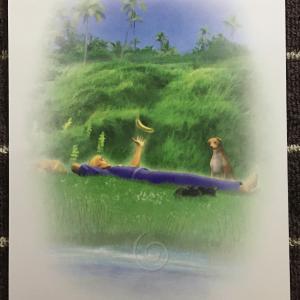 リラックスしましょう☆今日のカードからのメッセージ(2/18)