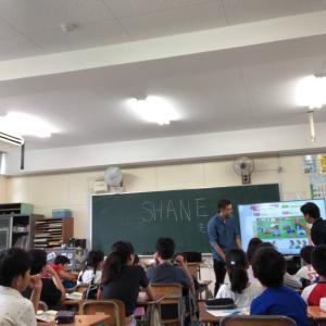 公立小学校での英語授業