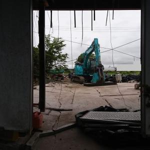 【6月27日の活動報告】「ととちゃん」の亡骸があった建物があっと言う間に消えてしまった