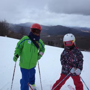 2018 年末スキー 2日目(しらかば 2in1)