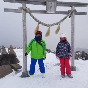 2018 年末スキー 3日目(車山高原スカイパーク)