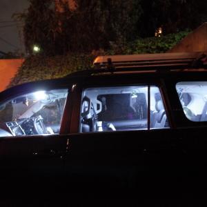 ランクルプラドの室内灯をLED化