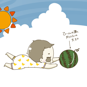 176))夏真っ盛り!!ウエットティッシュを出して遊ぶことを覚えちゃったよ★