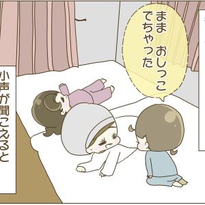 352))夜のトイレトレーニングと敷布団