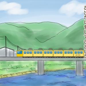 114))初めて電車に乗ってきました!紫外線対策もバッチリ