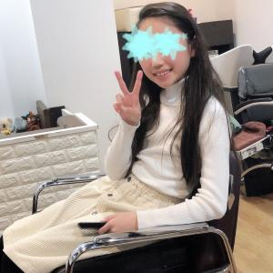三女さんのカット(^^)