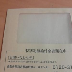 雑記786★特別定額給付金申請書