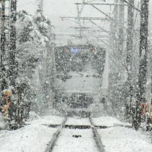3月の雪、そして妄想旅行