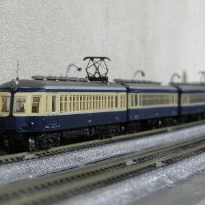 鉄コレ52系1次車飯田線横須賀色の流電でレイアウト清掃走行
