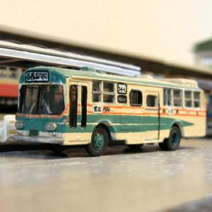 三菱ふそうMPからK-MPに改造したTOMIX製バス