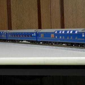 KATO製24系寝台特急北斗星5両単品を購入