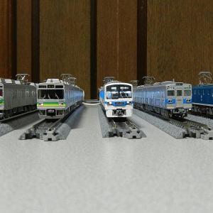 秩父鉄道現役車両Nゲージで粗揃いました。