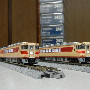 TOMIX製初期品キハ181系8両整備完了と試運転