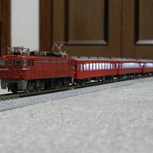 TOMIX製初期品50系客車整備完了