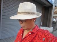 百均の帽子