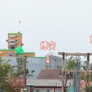 任天堂ワールドにマリオが出入りする緑の煙突発見