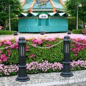 USJの花のある光景・ツツジやバラがきれいな2008年5月バージョン