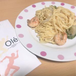 アスリートのための【高質たんぱくパスタ・「ole」】を自宅で食べてみました!
