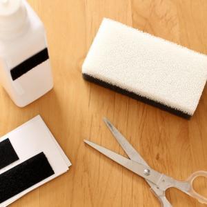 キッチンのスポンジ置き場どうする問題。ダイソー×セリアで水キレよく&掃除もラクになりました!