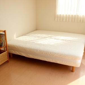 無印グッズで寝室がもっと快適に♪片付けラク&掃除もラクな仕組みで毎日キレイな寝室になりました!