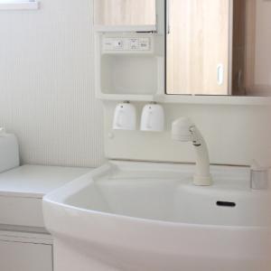 ダイソーとコレで洗面所の掃除がラクに!感染予防もバッチリできましたヾ(´∀`*)ノ