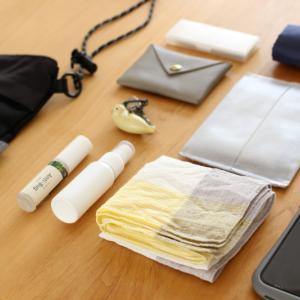 ダイソー・バッグが片付く超コンパクトな便利グッズ。これで忘れ物なしのバッグになりました!