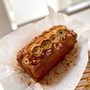 レシピ☆米粉のバナナケーキ