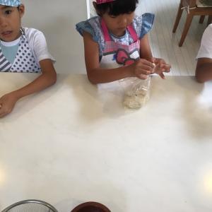 ビニール袋で作るピザ