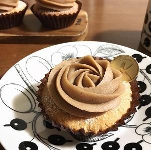 カップケーキで簡単モンブラン♪