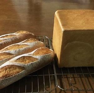 ミルクフランスと角食パン