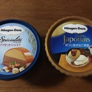 小さなバスクチーズケーキとバターしみしみレーズンパン ハーゲンダッツ新作2種