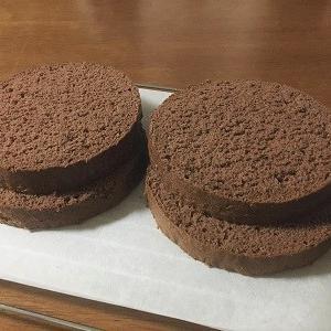 小さな黒い森のケーキ風