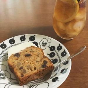 キャロットケーキと自家製ジンジャーエール(レシピあり)