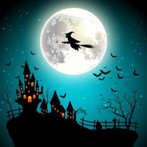 明日はスペシャルなハロウィンの満月。