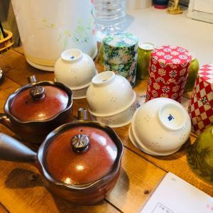 五感が研ぎ澄まされたお茶のワークショップ