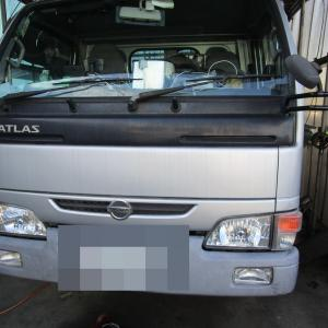 ☆アトラストラック 車検整備 & w245 ベンツ Bクラス オーディオ修理