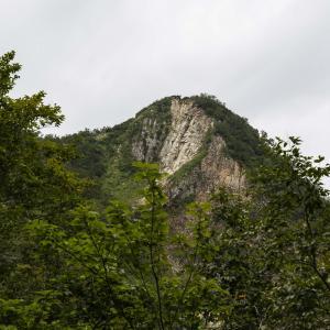 大渚山 登山 展望の良い北安曇の双耳峰