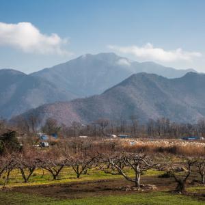 長野市東側に聳える里山 - 妙徳山