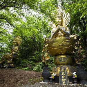 高社山 登山 十三仏を祀る信仰の赤岩口登山道