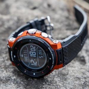 登山に使えるアウトドア用のスマートウォッチ - カシオ プロトレックスマートWSD-F30-RG