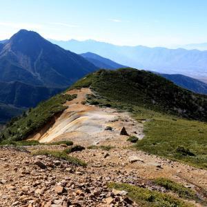 八ヶ岳縦走 硫黄岳から天狗岳、にゅうへ
